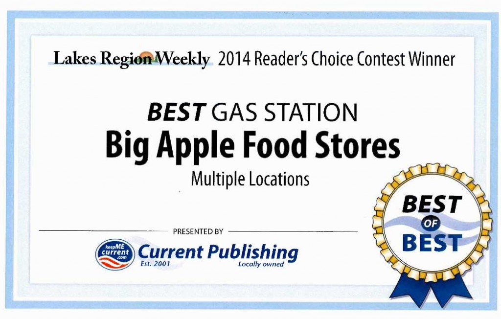 Best of Best Award Gas Station 5.16.2014 Margaret.Kyle